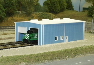 541-8007 N Scale Rix Products Pikestuff-Enginehouse Kit