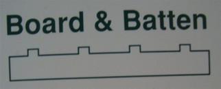 """4544 Evergreen Scale Models Board/Batten .125"""" Spacing"""