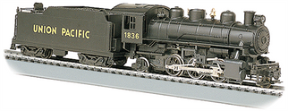 51501 HO Bachmann  Prairie 2-6-2 Locomotive & Tender w/Smoke-Union Pacific