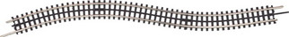 "45-1049 MTH O ScaleTrax 30"" Straight Section-Flex Track"