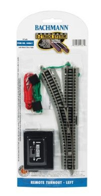 44861 Bachmann N Scale E-Z Track Remote Turnout - Left