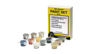 M125 Woodland Scenics Mini-Scene Paint Set