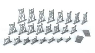 42523 Bachmann N  Scale Graduated Trestle Set (26)