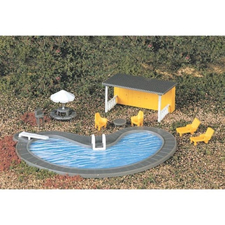 42215 Bachmann Industries HO Swimming Pool & Accessories
