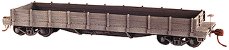 4040 HO Tichy Train Group Atlantic Coastline Style Flat Car-Undecorated w/Optional Wood Gondola Sides (Plastic Kit)