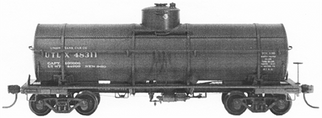 "4025 HO Tichy Train Group 36' 10,000 Gallon USRA Tank Car w/60"" Dome -Undecorated (Plastic Kit)"