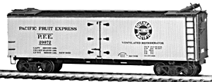 4024 HO Tichy Train Group 40' Double Sheathed Wood Reefer-PFE Class R-40-Undecorated (Plastic Kit)