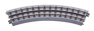 40-1002 MTH RealTrax O-31 Curved Track Section