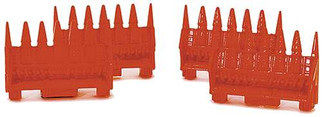 433-1661 Life-Like Products HO SceneMaster Flat Car Load Corn Head For Combine (4)
