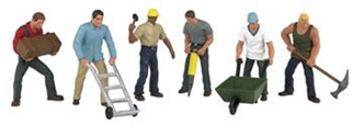 33155 Bachmann O  Construction Workers (6)