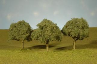 """32013 Bachmann(R) Scene Scapes(TM) 3""""-3.5"""" Oak Trees (3)"""