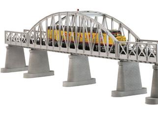 40-1101 O MTH RailKing Steel Arch Bridge -Silver