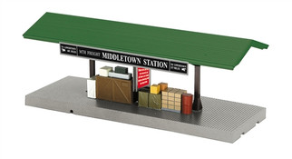 30-9184 O MTH RailKing Operating Freight Platform-Middletown Station