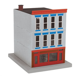 30-90487 O MTH RailKing 3-Story City Building-Hippy's Tattoos