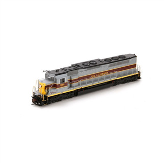 G63667 Athearn Genesis HO Scale SDP45(SD45M) Locomotive w/DCC & Sound-Erie Lackawanna #3655