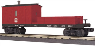 30-79464 O Scale MTH RailKing Crane Tender Car-Norfolk & Western