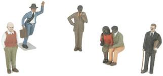 30-11071 MTH O 6-Piece Figure Set #11
