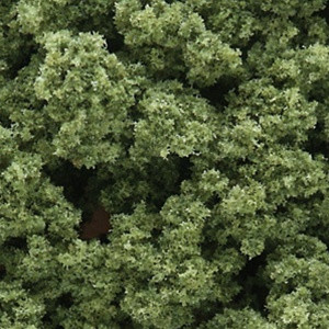 FC682 Woodland Scenics Light Green Clump-Foliage (Small Bag)