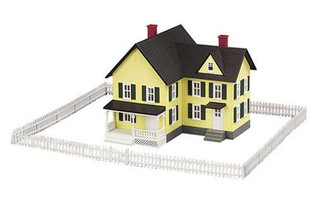 30-50002 MTH Railking O 4-Piece Fence Set White