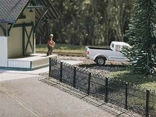 2850 Atlas N Scale Hairpin Style Fence