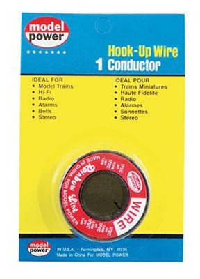 2301 Model Power Hook-Up Wire 1 Conductor Red 35'