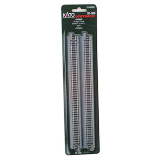 "20-000 Kato Unitrack N Scale 9-3/4"" Straight (4)"