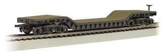 18349 HO Bachmann 52' Center Depressed Flat Car w/No Load