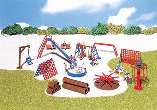 180576 HO Faller Playground Equipment