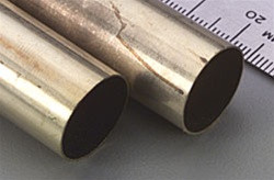 "144 K&S Round Brass Tube 21/32"" (1)"