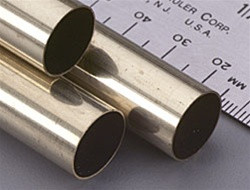 "141 K&S Round Brass Tube 9/16"" (1)"