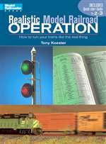 12231 Kalmbach Books Realistic Model Railroad Operation