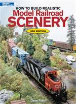 12216 Kalmbach Books How to Build Realistic Model Railroad Scenery 3rd Edition