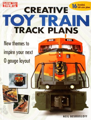 10-8350 Kalmbach Creative Toy Train Track Plans