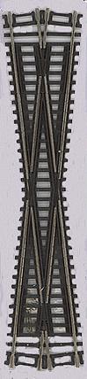 0571 Atlas HO Code 83 Track 12.5 Degree Crossing