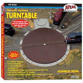 0305 Atlas HO Turntable