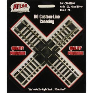 0176 Atlas HO Code 100 90?? Crossing