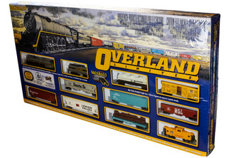 00614 Bachmann HO Overland Limited Train Set-UP