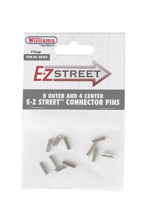 00269 O Bachmann E-Z Street 8 Outer and 4 Center Connector Pins