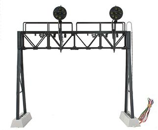 DZ-1090-60-2 O Z-Stuff for Tains Signal Bridge w/7-Light Pennsy Style