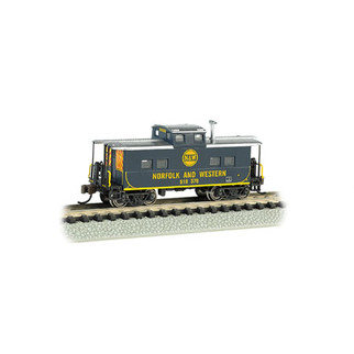 16863 N Scale Bachmann Northeast Steel Caboose Norfolk & Western #500838
