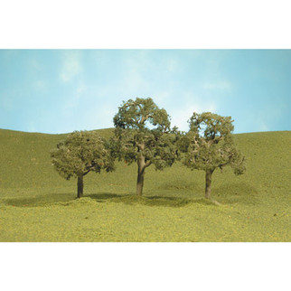 "32107 Bachmann Scenescapes Walnut Trees 2-2.25""(4)"