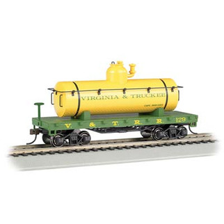 72104 HO Scale Bachmann Olde Tyme Tank Car-Virginia & Truckee