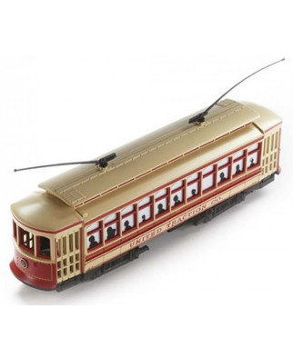 61041 HO Scale Bachmann Brill Trolley-United Traction
