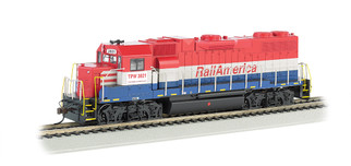 61718 HO Scale Bachmann GP38-2 Diesel Locomotive(DCC Ready)-Rail America #3821