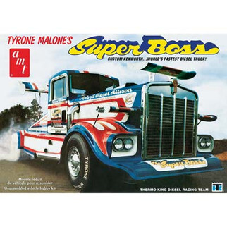 AMT930 AMT Tyrone Malone's Kenworth Super Boss Drag Truck