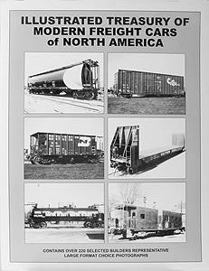DPA Illustrated Treasury of Modern Freight Cars of North America by James W. Kerr