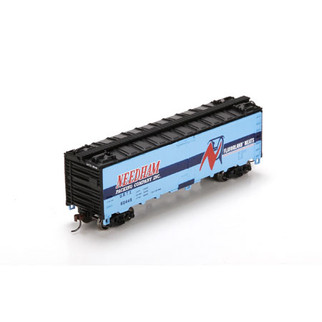 86052 HO Scale 40' Steel Reefer-Needham(Blue) #60448