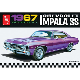 AMT981 AMT 1967 Chevrolet Impala SS 1/25 Scale Plastic Model Kit