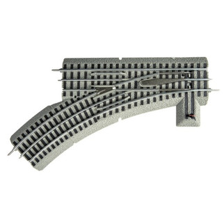 6-81252 O Scale Lionel FasTrack O31 Left-Hand Manual Switch