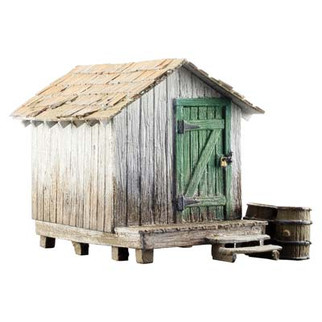 BR5858 O Scale Woodland Scenics Wood Shack